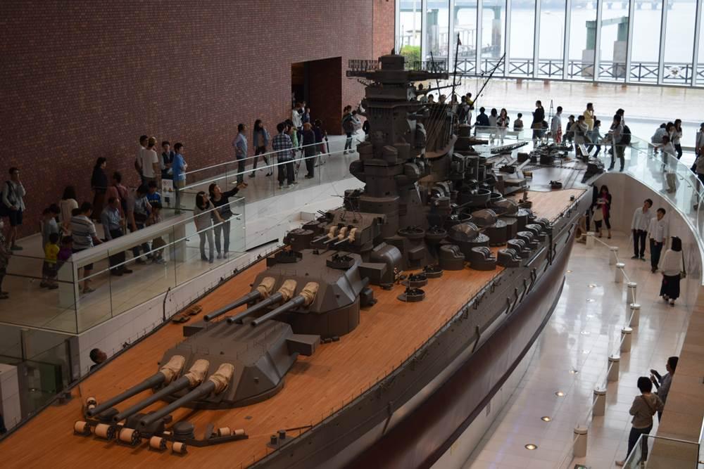 大和ミュージアムの巨大模型