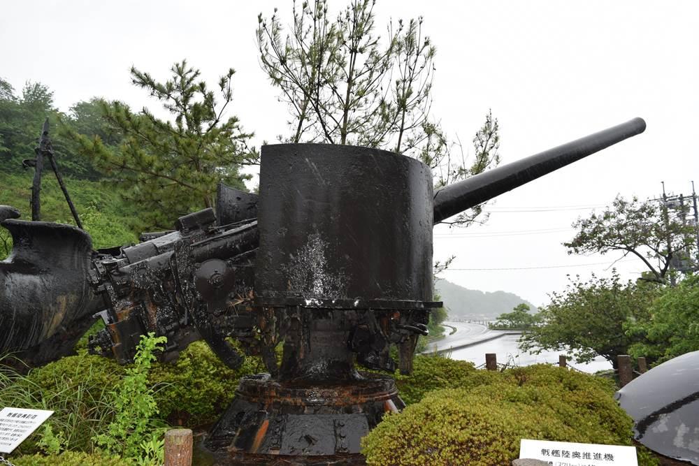 陸奥記念館副砲