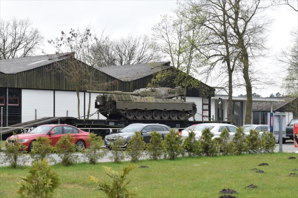 ムンスター戦車博物館外観