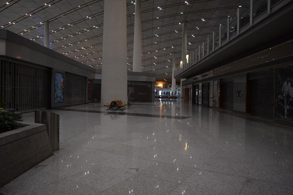 北京空港深夜