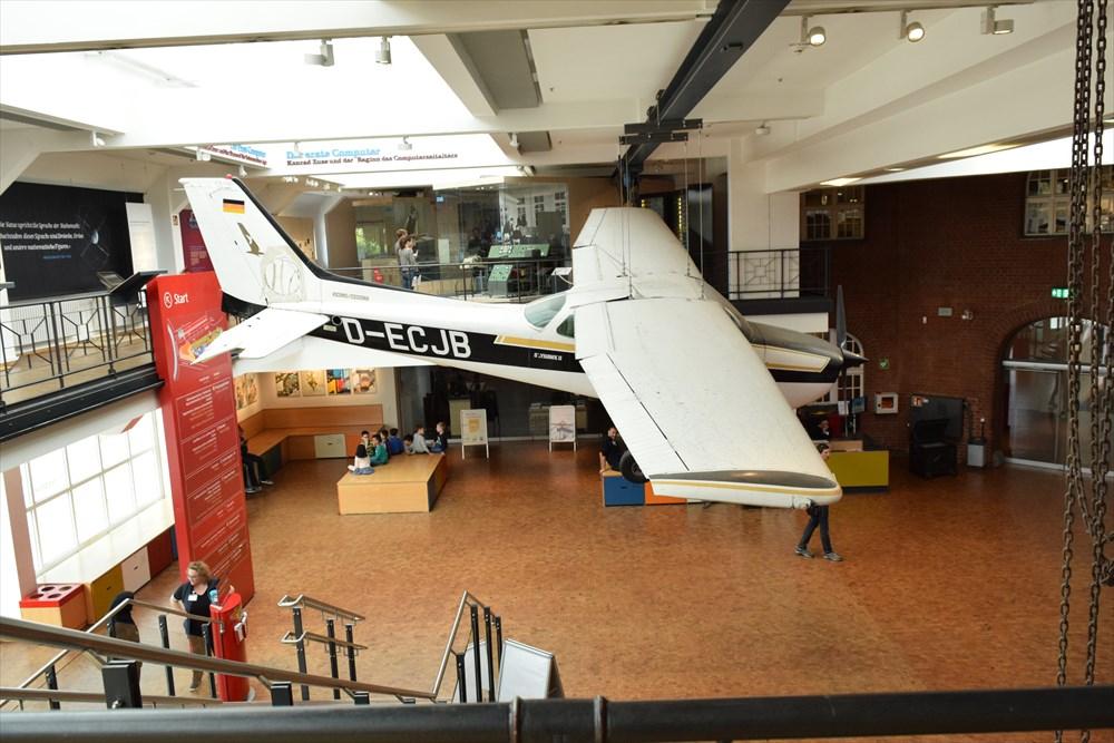 ドイツ技術博物館フロア