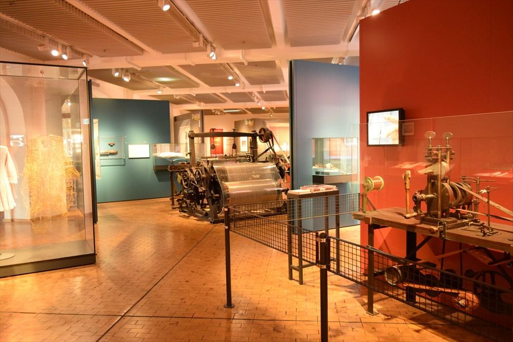 ドイツ技術博物館紡績機